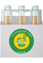 Сидр яблочный St. Anton сухой нефильтрованный в коробке 6 бут. по 0.7 л.
