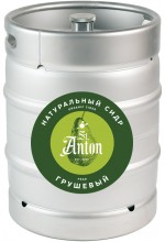 Сидр с соком груши St. Anton полусладкий в кегах 30 л.