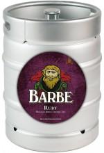 Пиво Barbe Ruby фруктовый эль, фильтрованное в кегах 30 л.