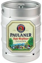 Пиво Paulaner Hefe-Weissbier Naturtrub светлое, нефильтрованное в кегах 30 л.