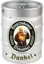 Пиво Franziskaner Hefe-Weisse Dunkel темное, нефильтрованное в кегах 30 л.