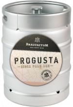 Пиво Braufactum Progusta светлое, фильтрованное в кегах 30 л.