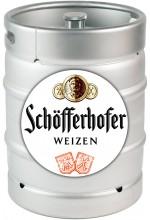 Пиво Schöfferhofer Hefeweizen светлое, нефильтрованное в кегах 30 л.
