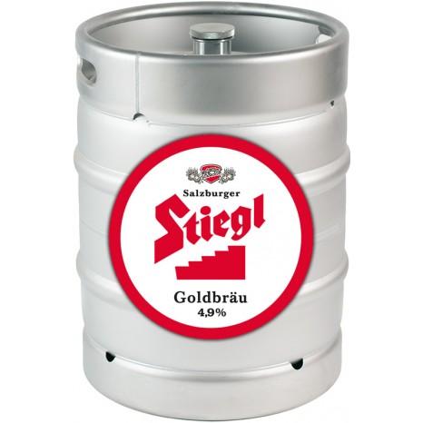 Пиво Stiegl Goldbrau светлое, фильтрованное в кегах 25 л.