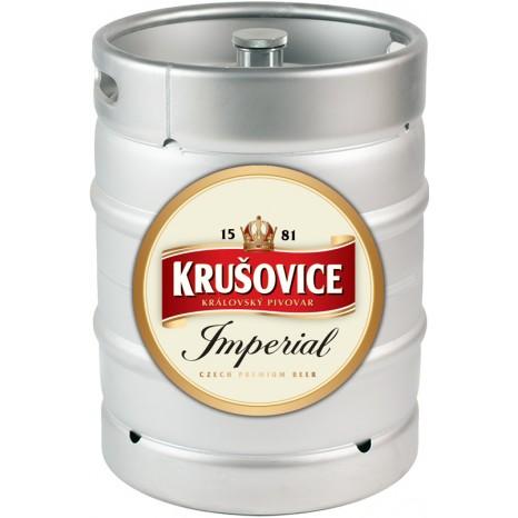 Пиво Krušovice Imperial светлое, фильтрованное в кегах 30 л.