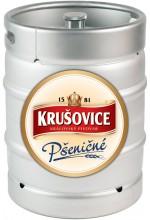 Пиво Krusovice Psenicne светлое, нефильтрованное в кегах 30 л.