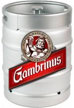 Пиво Gambrinus Premium светлое, фильтрованное в кегах 30 л.