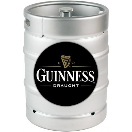 Пиво Guinness Draught темное, фильтрованное в кегах 30 л.