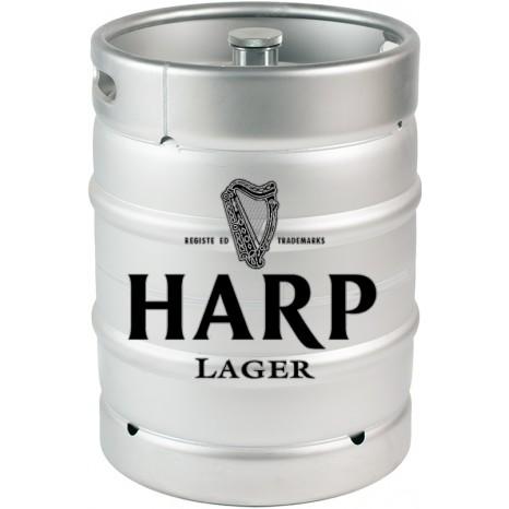 Пиво Harp Lager draught светлое, фильтрованное в кегах 20 л.