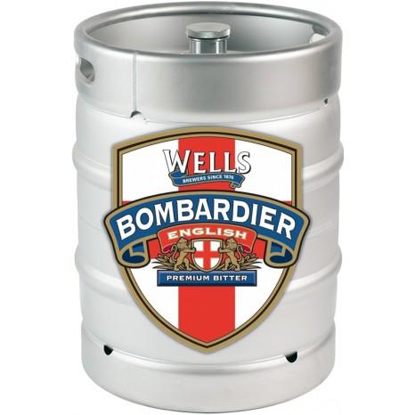 Пиво Wells Bombardier светлое, фильтрованное в кегах 30 л.