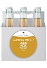 Пиво American Pale Ale американский эль, нефильтрованное в упаковке 12шт × 0.5л.