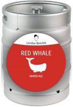 Пиво Red Whale амбер эль, нефильтрованное в кегах 30 л.
