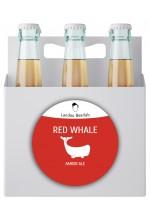 Пиво Red Whale амбер эль, нефильтрованное в упаковке 12шт × 0.5л.