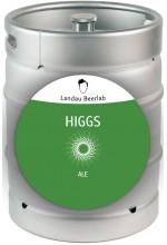 Пиво Higgs голден эль, нефильтрованное в кегах 30 л.