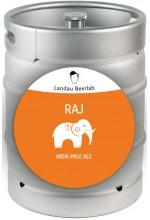 Пиво Raj индийский пэйл эль, нефильтрованное в кегах 30 л.