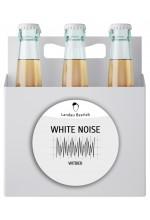 Пиво White Noise светлое пшеничное, нефильтрованное в упаковке 12шт × 0.5л.