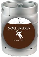 Пиво Space Brekker овсяный стаут, нефильтрованное в кегах 30 л.