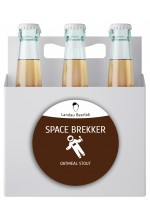 Пиво Space Brekker овсяный стаут, нефильтрованное в упаковке 12шт × 0.5л.