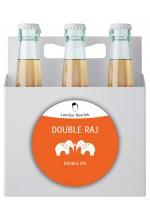 Пиво Double Raj двойной индийский пэйл эль, нефильтрованное в упаковке 12шт × 0.5л.