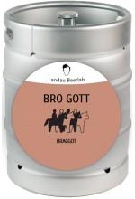 Пиво Bro Gott медовый эль, нефильтрованное в кегах 30 л.