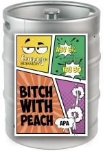 Пиво Bitch with Peach 2.0, APA, в кегах 30 л.