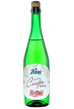 """Сидр яблочный St. Anton игристый сухой """"Экстра Брют"""" в бутылках 0.75 л."""