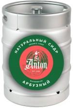 """Сидр с соком арбуза St. Anton """"Арбузный"""" полусладкий в кегах 30 л."""