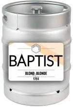 Пиво Baptist Blonde светлое, фильтрованное в кегах 20 л.