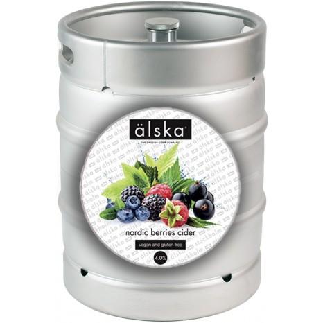 Сидр фруктовый ALSKA Nordic berries fruit, в кегах 30 л.
