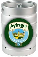 Пиво Ayinger Lager Hell светлое, фильтрованное в кегах 30 л.