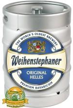 Пиво Weihenstephaner Original Helles светлое, фильтрованное в кегах 30 л.