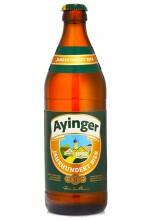 Пиво Ayinger Jahrhundert Bier светлое, фильтрованное в бутылке 0,5 л.
