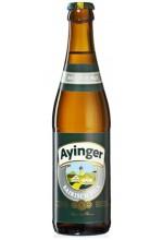 Пиво Ayinger Bairisch Pils светлое, фильтрованное в бутылке 0,5 л.