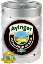 Пиво Ayinger Altbairisch Dunkel темное, фильтрованное в кегах 30 л.