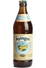 Пиво Ayinger Bräuweisse светлое, нефильтрованное в бутылке 0,5 л.