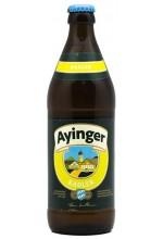 Пивной напиток Ayinger Radler светлое, фильтрованное в бутылке 0,5 л.
