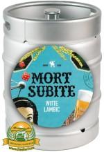 Пиво Mort Subite Witte Lambic витбир, нефильтрованное в кегах 20 л.