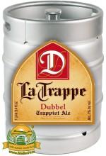 Пиво La Trappe Dubbel темное, нефильтрованное в кегах 30 л.
