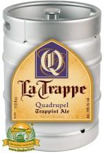 Пиво La Trappe Quadrupel темное, нефильтрованное в кегах 30 л.