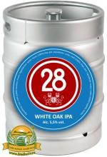 Пиво Caulier 28 White Oak IPA светлое, фильтрованное в кегах 30 л.