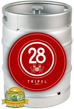 Пиво Caulier 28 Tripel темное, фильтрованное в кегах 30 л.
