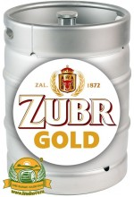 Пиво Zubr Gold светлое, фильтрованное в кегах 30 л.