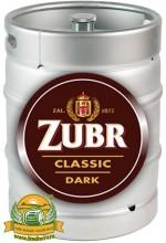 Пиво Zubr Classic Dark темное, фильтрованное в кегах 30 л.