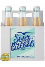 Пиво Sour Breeze, светлое, нефильтрованное в упаковке 20шт × 0.5л.