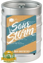 Пиво Sour Storm, светлое, нефильтрованное в кегах 20 л.