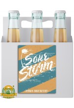 Пиво Sour Storm, светлое, нефильтрованное в упаковке 20шт × 0.5л.