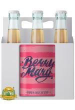 Пиво Berry Mary Currant & Raspberry, светлое, нефильтрованное в упаковке 20шт × 0.5л.