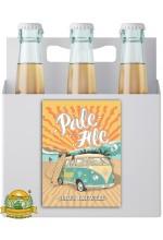Пиво Pale Ale, светлое, нефильтрованное в упаковке 20шт × 0.5л.
