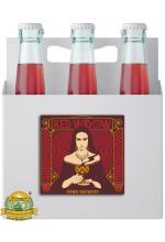 Пиво Red Widow, темное, нефильтрованное в упаковке 24шт × 0.33л.