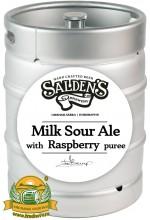 Пиво Milk Sour Ale With Raspberry Puree, светлое, нефильтрованное в кегах 30 л.